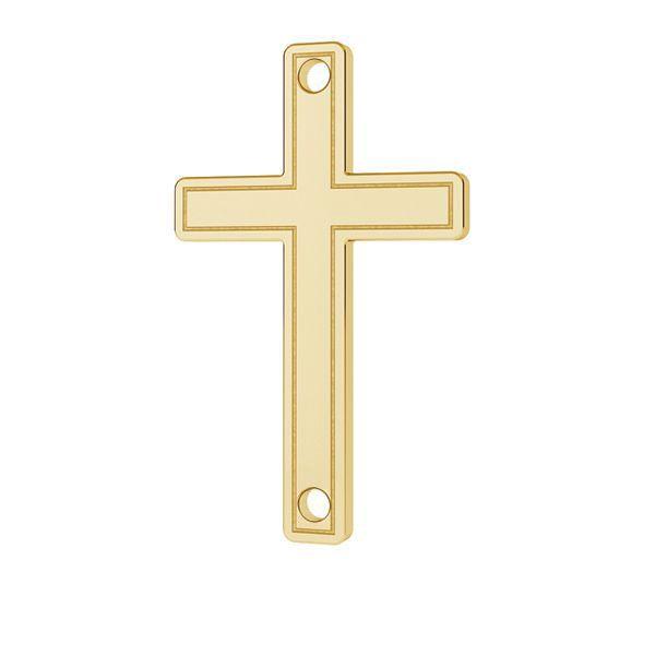 Crucifix pandantiv 14K aur LKZ-00028 - 0,30 mm