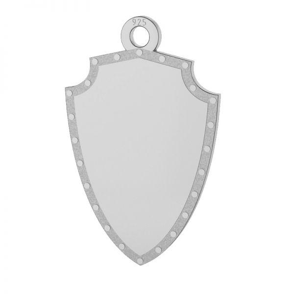 Scut pandantiv, sterling argint 925, LKM-2131