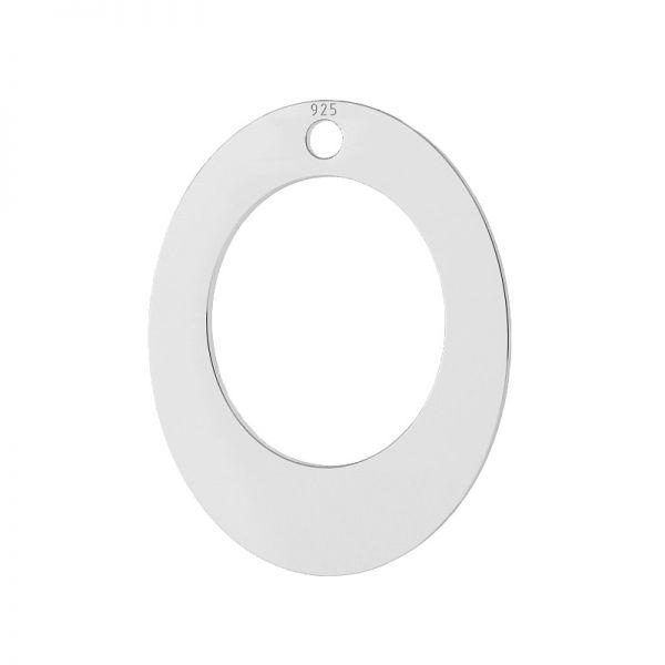 Dreptunghi oval pandantiv, LKM-2084