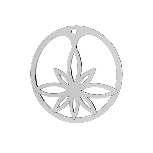 Floare de lotus pandantiv, LKM-2163 - 05