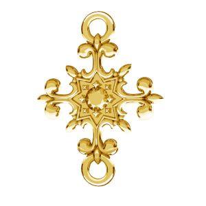 Crucifix pandantiv, argint 925, ODL-00600
