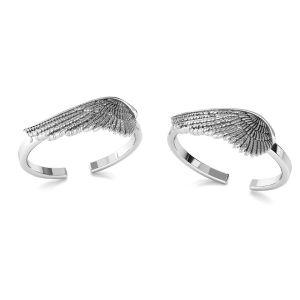 Frunzele inel argint 925, ODL-00602