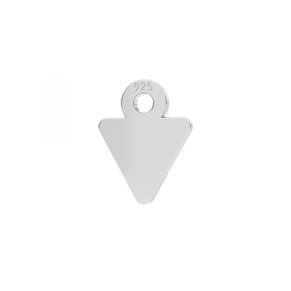 Triunghi mini pandantiv argint 925, LKM-2338 - 0,50