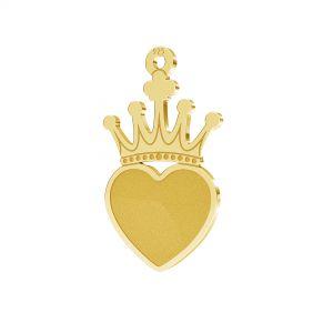 Coroană pandantiv argint 925, LKM-2330 - 0,50
