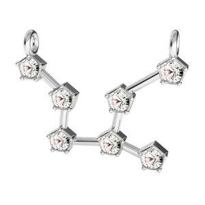 Fecioară pandantiv zodiac*argint 925*ODL-00654
