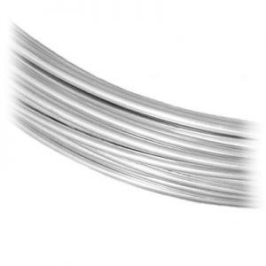 Sârmă de bijuterii SILVER WIRE-H 1,2 mm