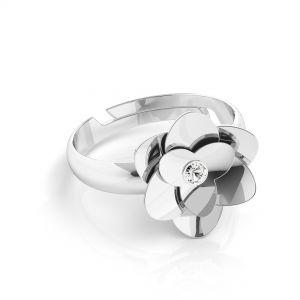 Trandafir inel*argint 925*U-RING ODL-00041