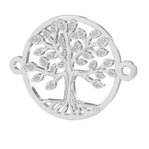 Copac pandantiv argint 925, LKM-2514 - 0,50 15x19,6 mm