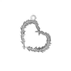 Pana inima pandantiv*argint 925*ODL-00723 18,6x22 mm