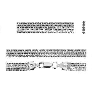 Coreana lant*argint 925*PLE CORD 1,2 2S (45 cm)