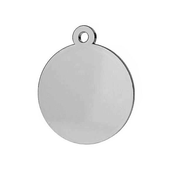 Rundă pandantiv sterling argint, LKM-2002