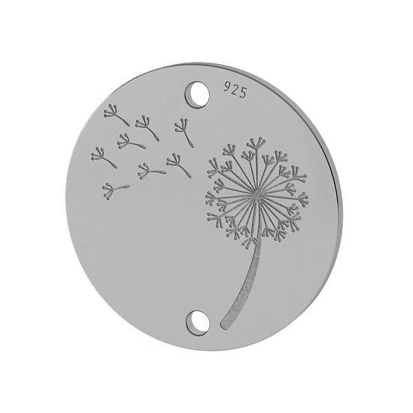 Păpădie pandantiv sterling argint, LKM-2027