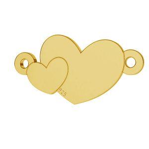 Inimă pandantiv sterling argint, LKM-2037