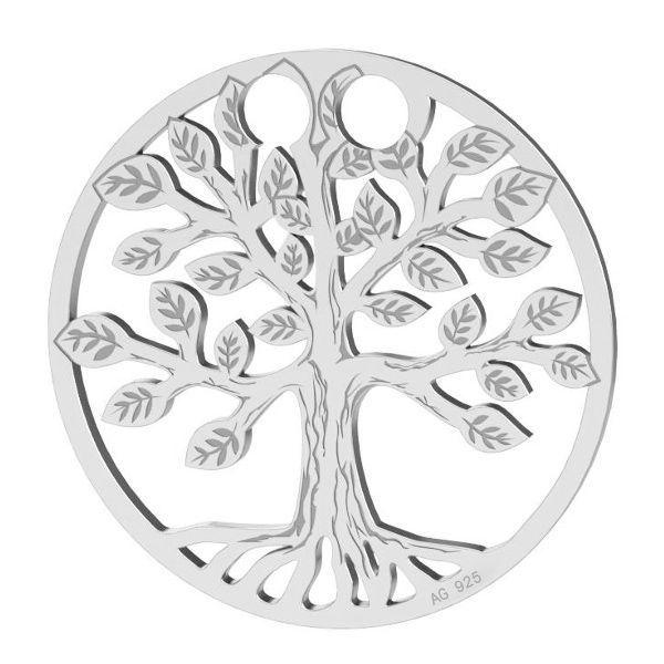 Copacul vietii pandantiv sterling argint, LKM-2028