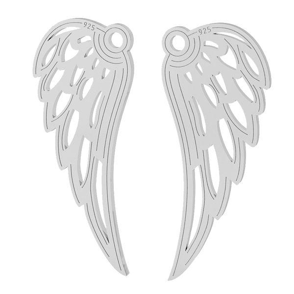 Aripă pandantiv sterling argint, LKM-2005