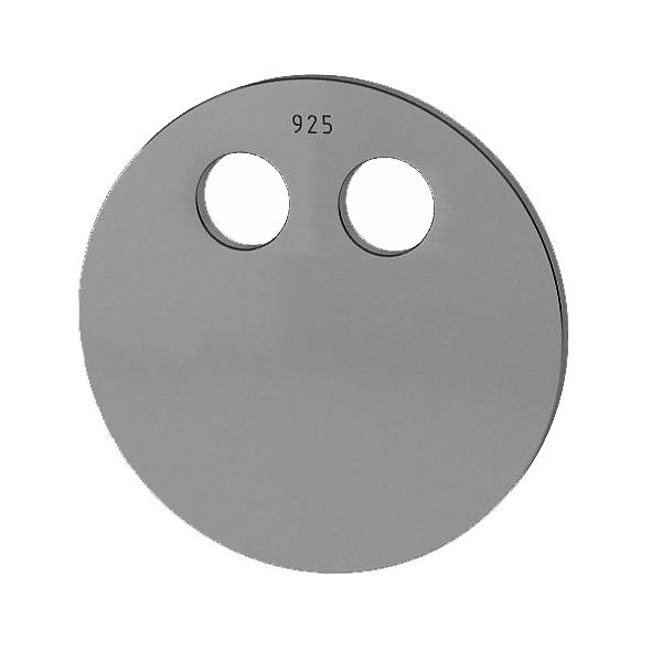 Rundă pandantiv sterling argint, LKM-2032