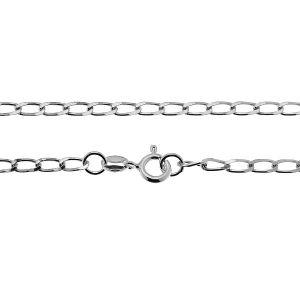 Lantisor curb*argint 925*PD 70 (38 cm)