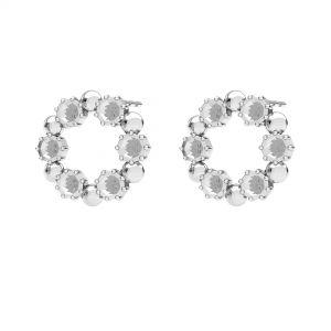 Runda cercei, argint 925, ODL-00704 KLS 14,2 mm (1088 PP 18)