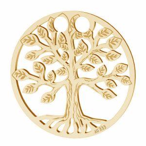 Copacul Vietii pandantiv*aur 333*LKZ8K-30017 - 0,30 19x19 mm