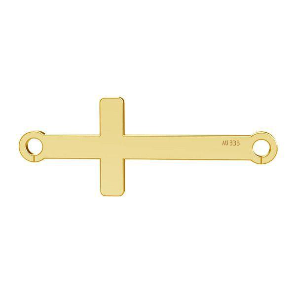 Cruce orizontală pandantiv*gold 333*LKZ8K-30020 - 0,30 9x23 mm