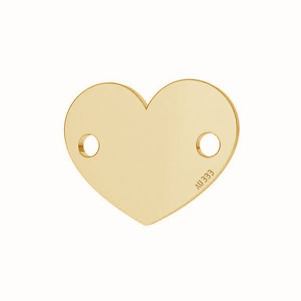 Inimă pandantiv*aur 333*LKZ-30029 - 0,30 6x7,5 mm