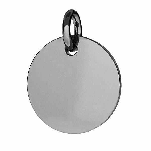 Rundă pandantiv sterling argint, J-LKM-2001 - 0,40 22x22 mm
