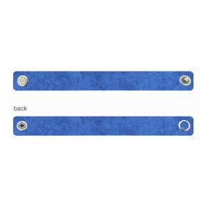 Alcantara baza bratara - albastru, ALC 02 1,2x20 cm