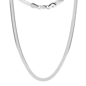 Lantisor sarpe*argint 925*MAG 050 33 cm