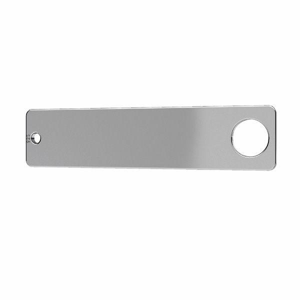 Dreptunghiular pandantiv sterling*argint 925*LKM-2638 - 0,50
