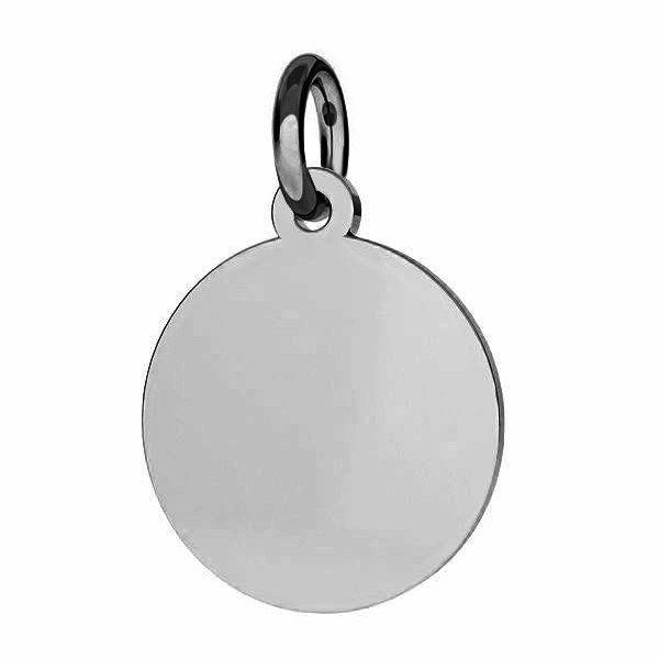 Rundă pandantiv sterling*argint 925*J-LKM-2007 - 0,80 12x14 mm