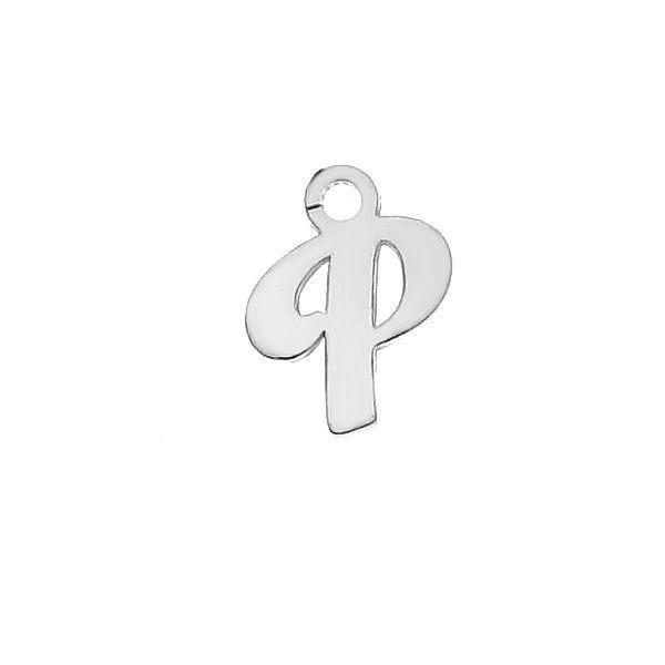 Scrisoare T pandantiv*argint 925*LK-0076 - 0,50 5,1x9,5 mm
