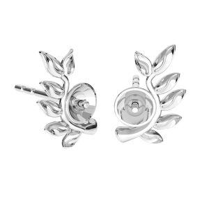 Inimă pandantiv Swarovski pearls, ODL-00774 4x22 mm (5818 MM 4, 5818 MM 6)
