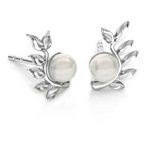 Frunze cercei Swarovski pearls, ODL-00791 L+P 6,7x10,5 mm (5818 MM 4)