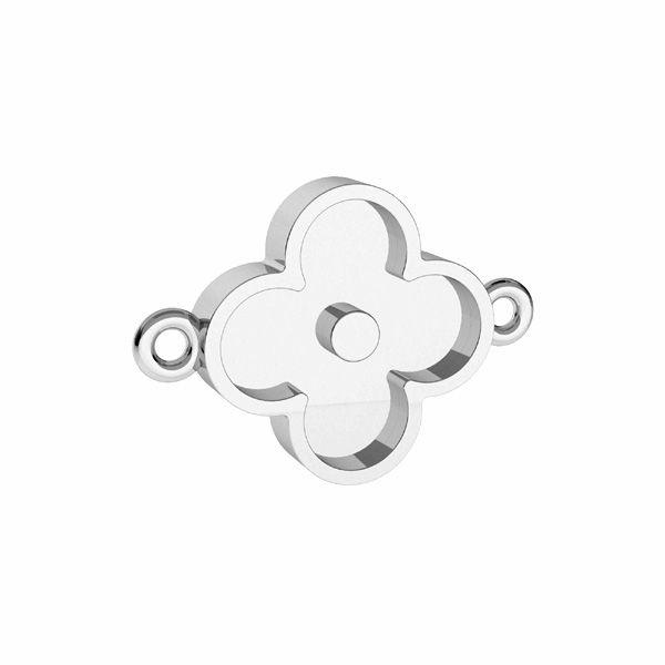 Pandantiv rotund pentru răsină, argint 925, ODL-00680 CON 1