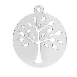 Copac pandantiv argint 925, LKM-2626 - 0,50 16x17,5 mm