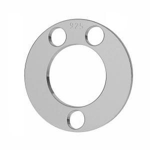 Rundă pandantiv sterling argint, LKM-2892 - 0,80 5x5 mm