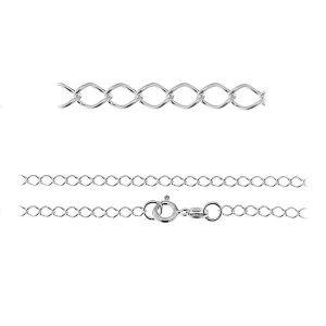 Lant rombo*argint 925*R1 50 (40 cm)