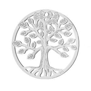 Copac pandantiv argint 925, LKM-2939 - 0,50 19x19 mm