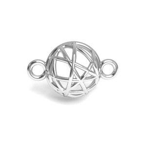 Emisfera pandantiv argint 925, CON 1 E-PENDANT 645 8,4x13,3 mm
