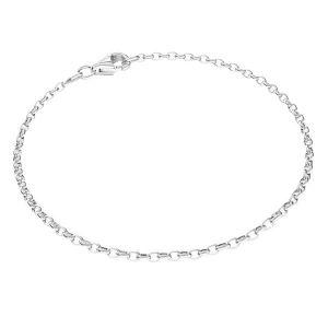 Bratara rolo*argint 925*ROLO OVAL 0,35X0,60 17 cm