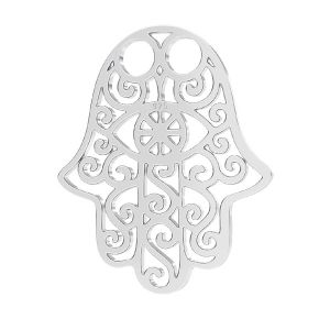 Hamsa pandantiv, argint 925 LKM-2640 - 0,50 15x20,0 mm