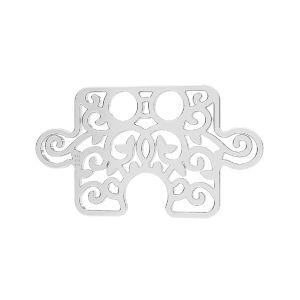 Puzzle pandantiv*argint 925*LKM-2639 - 0,50 11x19 mm