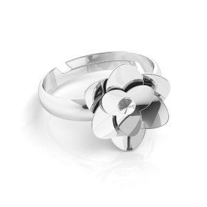 Trandafir inel*argint 925*U-RING ODL-00041 11 mm