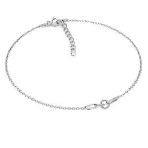 Baza bratara*argint 925*BRACELET 18 (A 030) + R1 50 15-19 cm