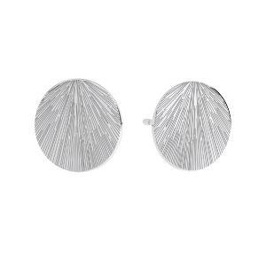 Runda cercei, sterling argint 925, KLS LKM-3009 - 0,50 10x10 mm
