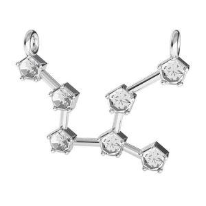 Fecioară pandantiv zodiac*argint 925*ODL-00654 16,1x23,5 mm